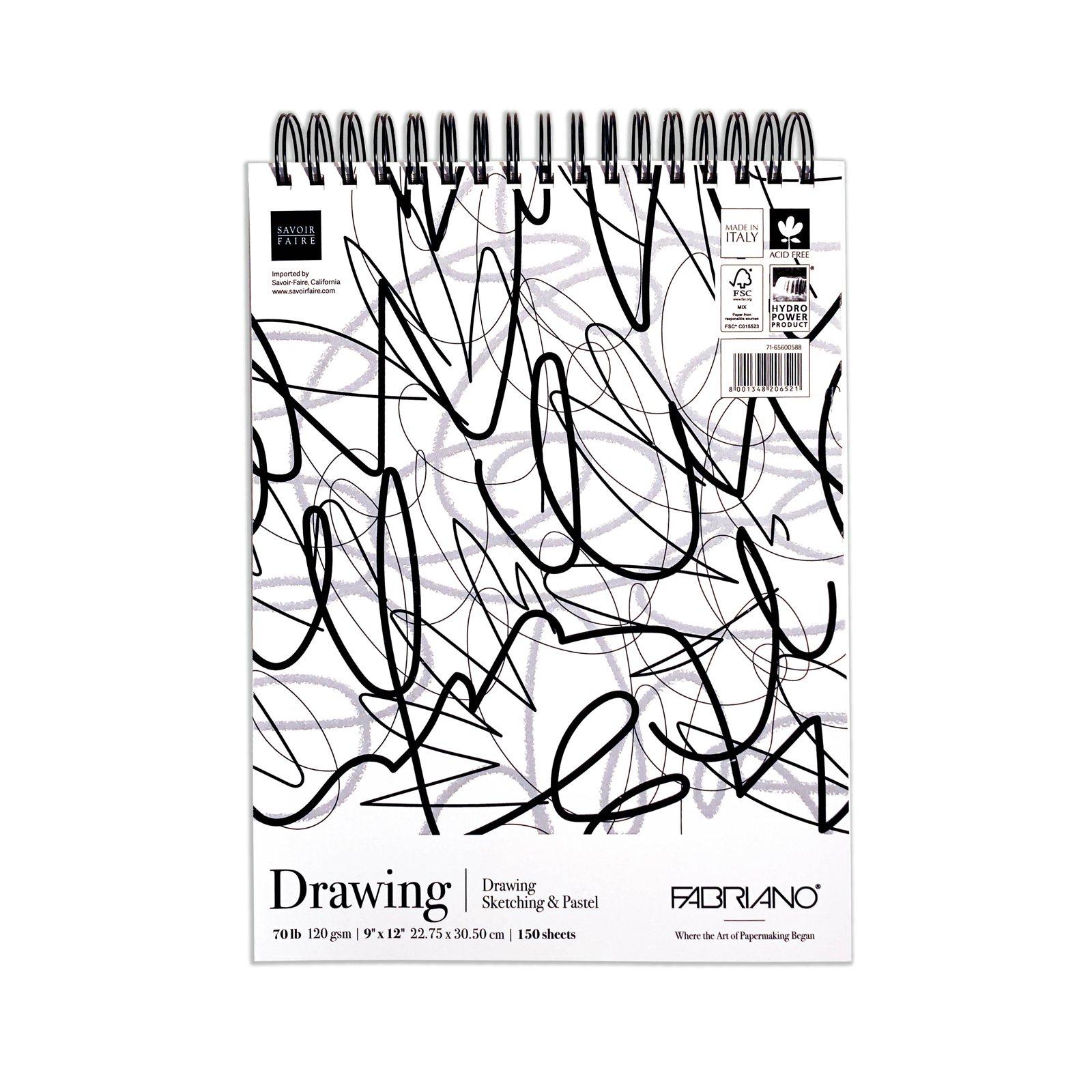 Fabriano Fat Pad Drawing 9 X12 70lbs 150 Sheets