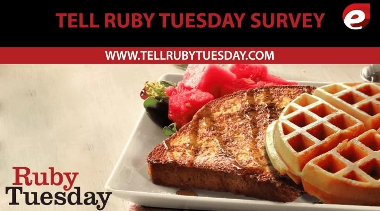 tell ruby tuesday survey