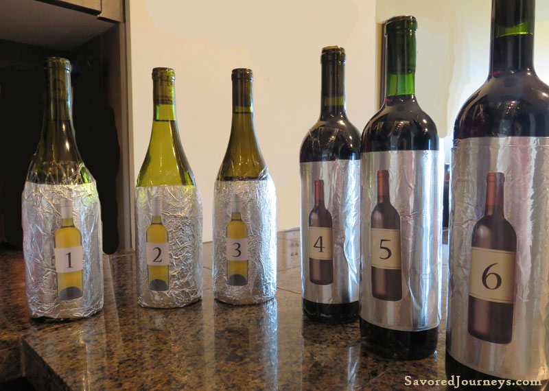 How To Host A Blind Wine Tasting Party Savored Journeys