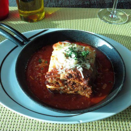 Tuscan Grill's Lasagna
