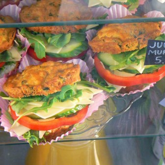 Muffin sandwiches
