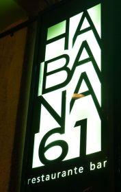 Habana 61 has a very modern vibe.