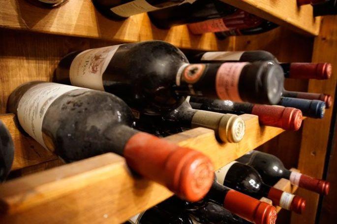 Wine aging at Ca di Pesa