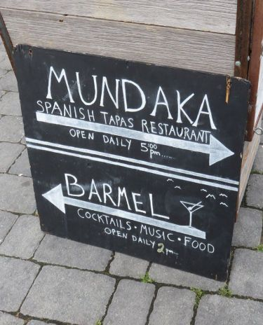 Mundaka serves Spanish tapas and next door is Barmel