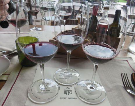 Wine Flight at lunch
