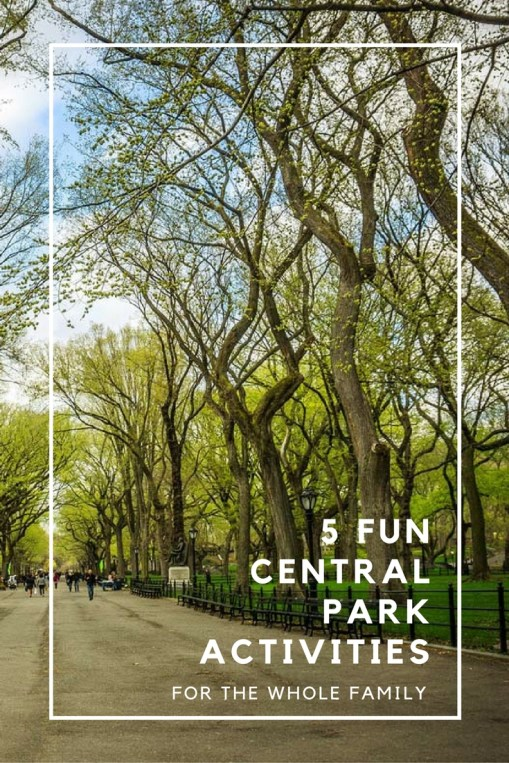5 Fun Central Park Activities for the Whole Family