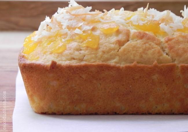 Mini Coconut-Mango Swirl Bread