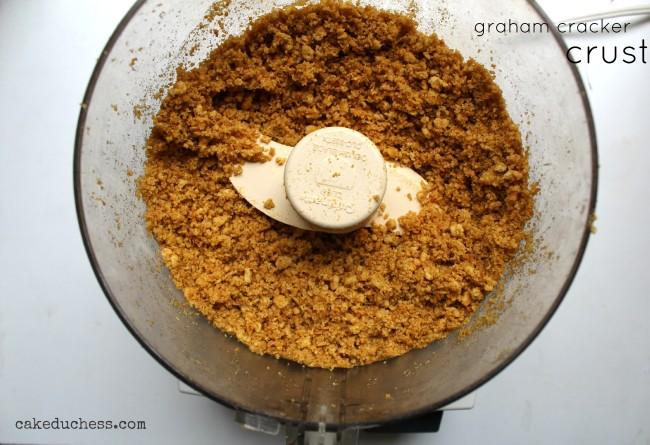 Olive Oil Graham Cracker Crust