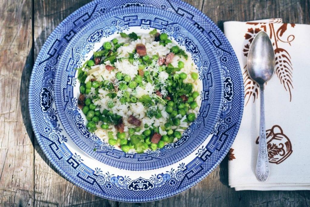 Risi e Bisi-Rice and Peas