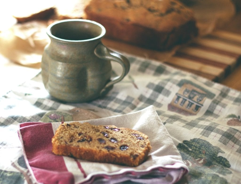 Gluten-Free Cinnamon-Raisin Quick Bread-Plumcake all'Uva Passa
