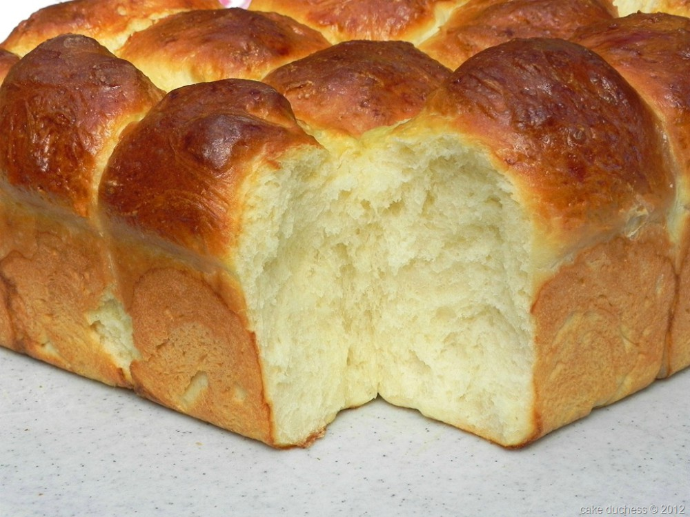image of inside of rolls just baked