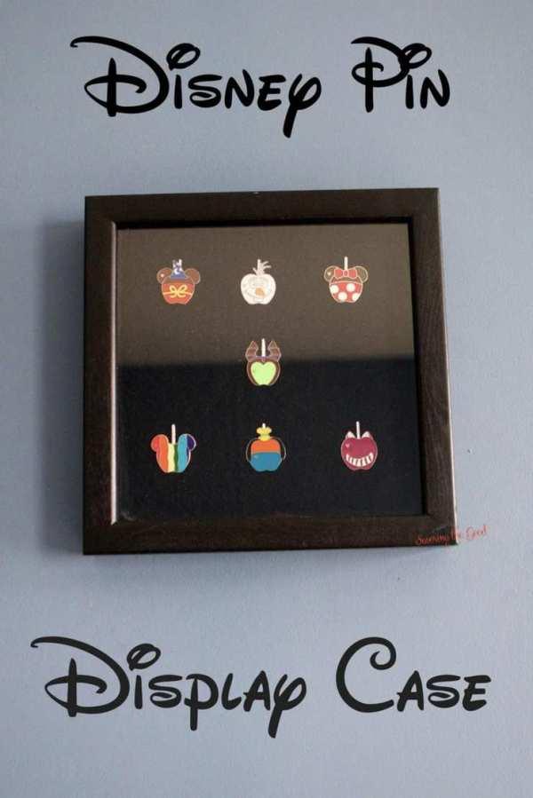 Disney Pin Shadow Box Display