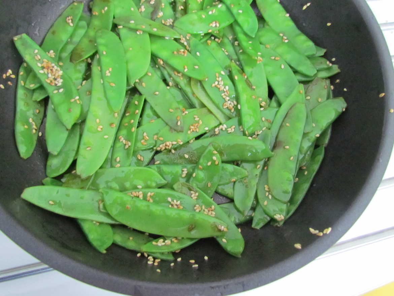 asian stir-fry snow peas