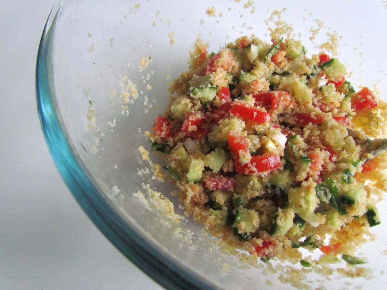 bulgur mint salad