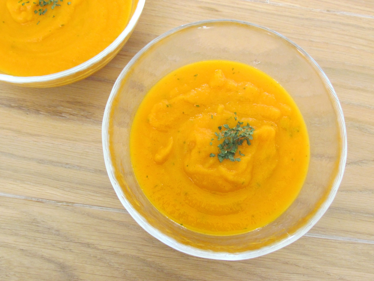carrot parsley soup