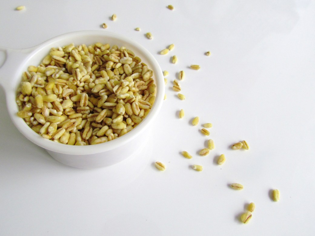 uncooked wheat berry