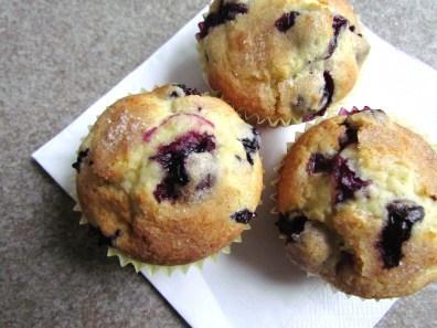 muffins aux myrtilles | www.savormania.com