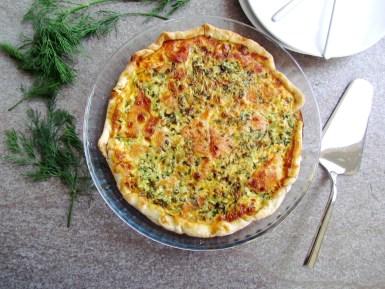 quiche au saumon fumé et cresson | www.savormania.com
