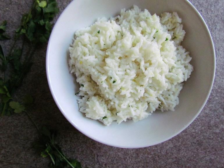 riz basmati au gingembre et citron   www.savormania.com