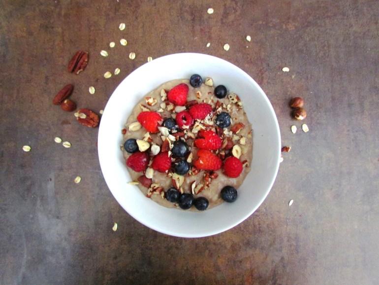 porridge aux flocons d'avoine et à la noix de coco | www.savormania.com