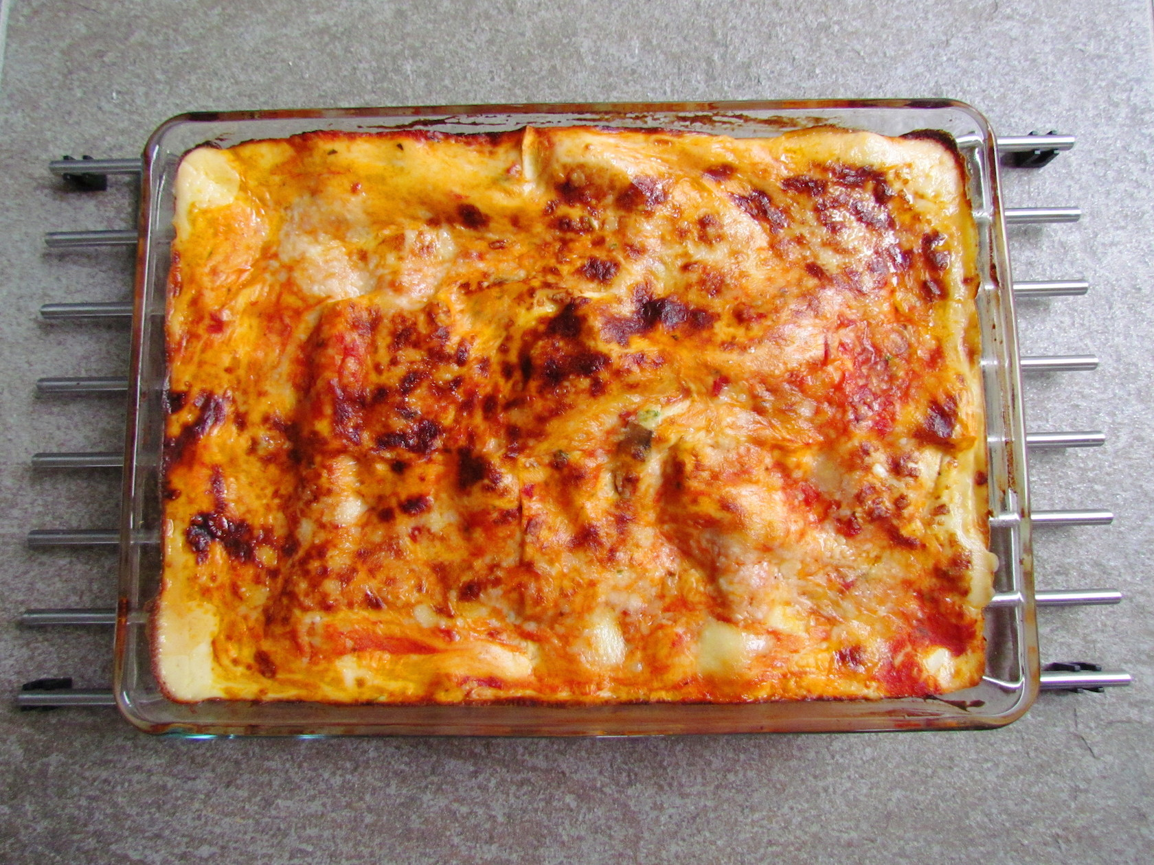 mushroom cheese lasagna