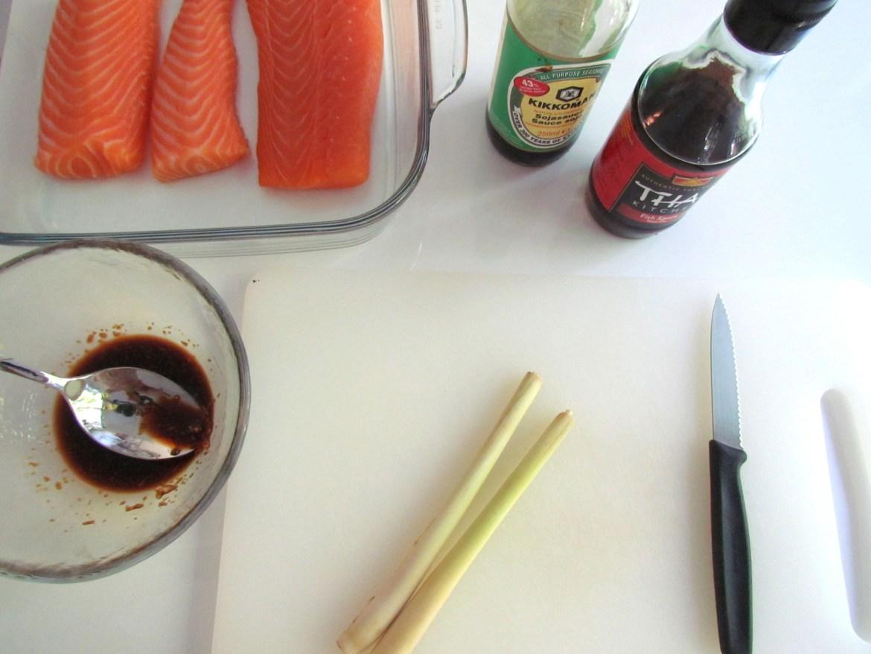 how to make lemongrass salmon