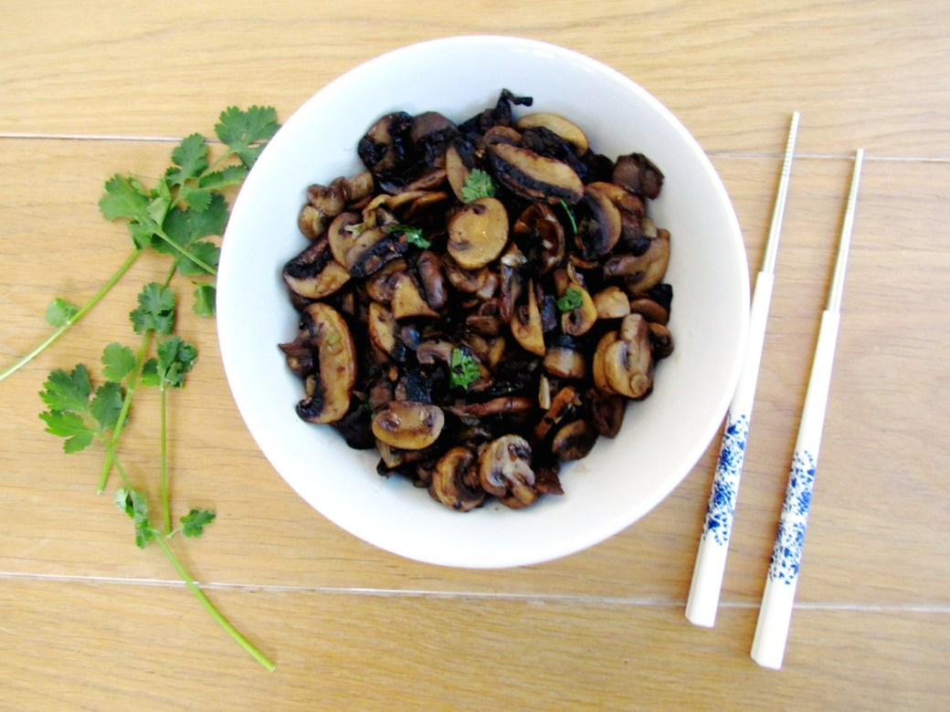 asian stir-fried mushrooms | www.savormania.com