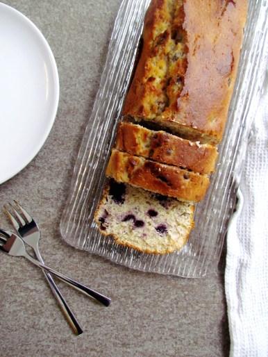 cake aux myrtilles et citron | www.savormania.com
