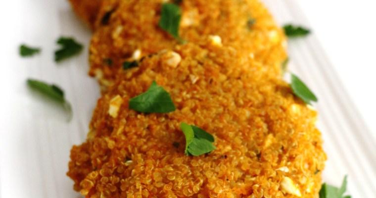 quinoa pumpkin veggie burgers