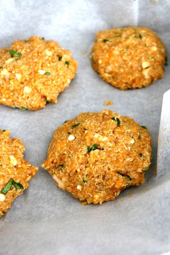 quinoa pumpkin burgers | www.savormania.com