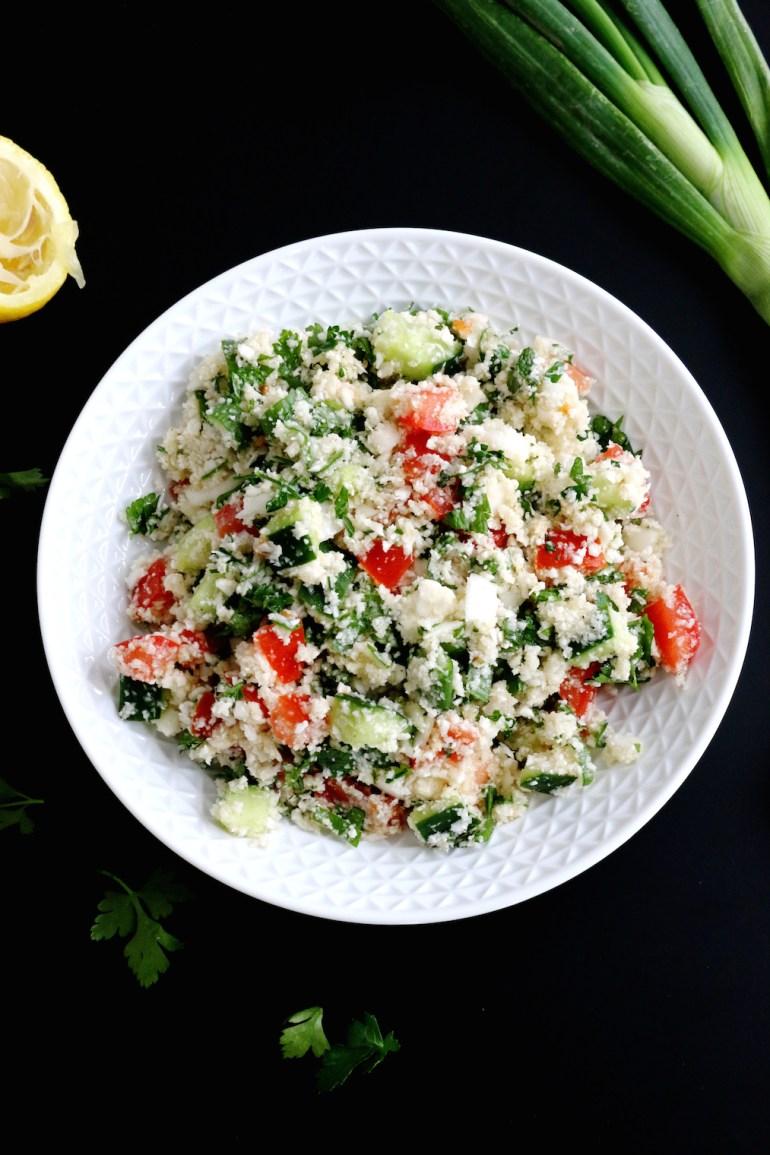 cauliflower tabbouleh | www.savormania.com