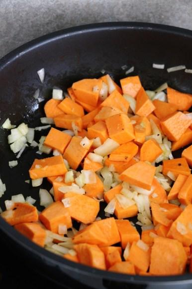 cooking sweet potato | www.savormania.com