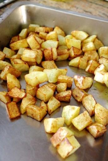 fried potatoes   www.savormania.com