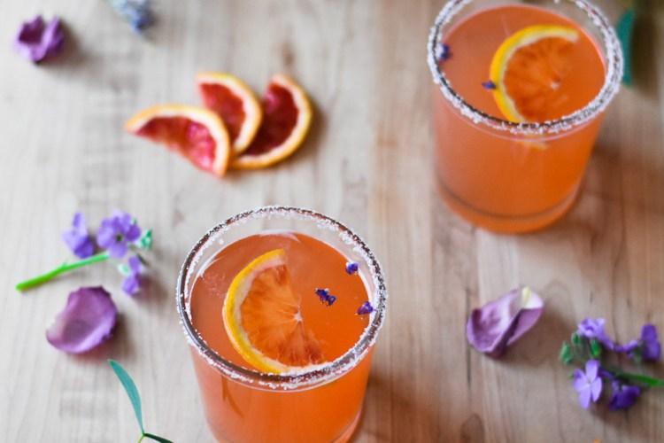 Blood Orange Paloma
