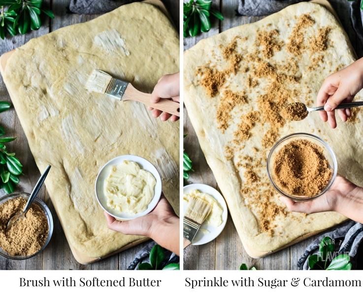 the filling for Swedish cardamom buns