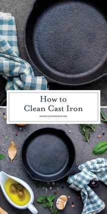 Clean Cast Iron Remove Rust