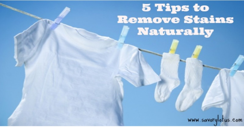 5 Tips To Remove Stains Naturally Savory Lotus