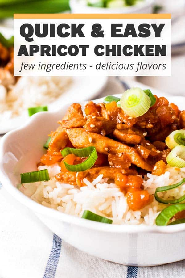 Apricot Chicken Image Pin 1