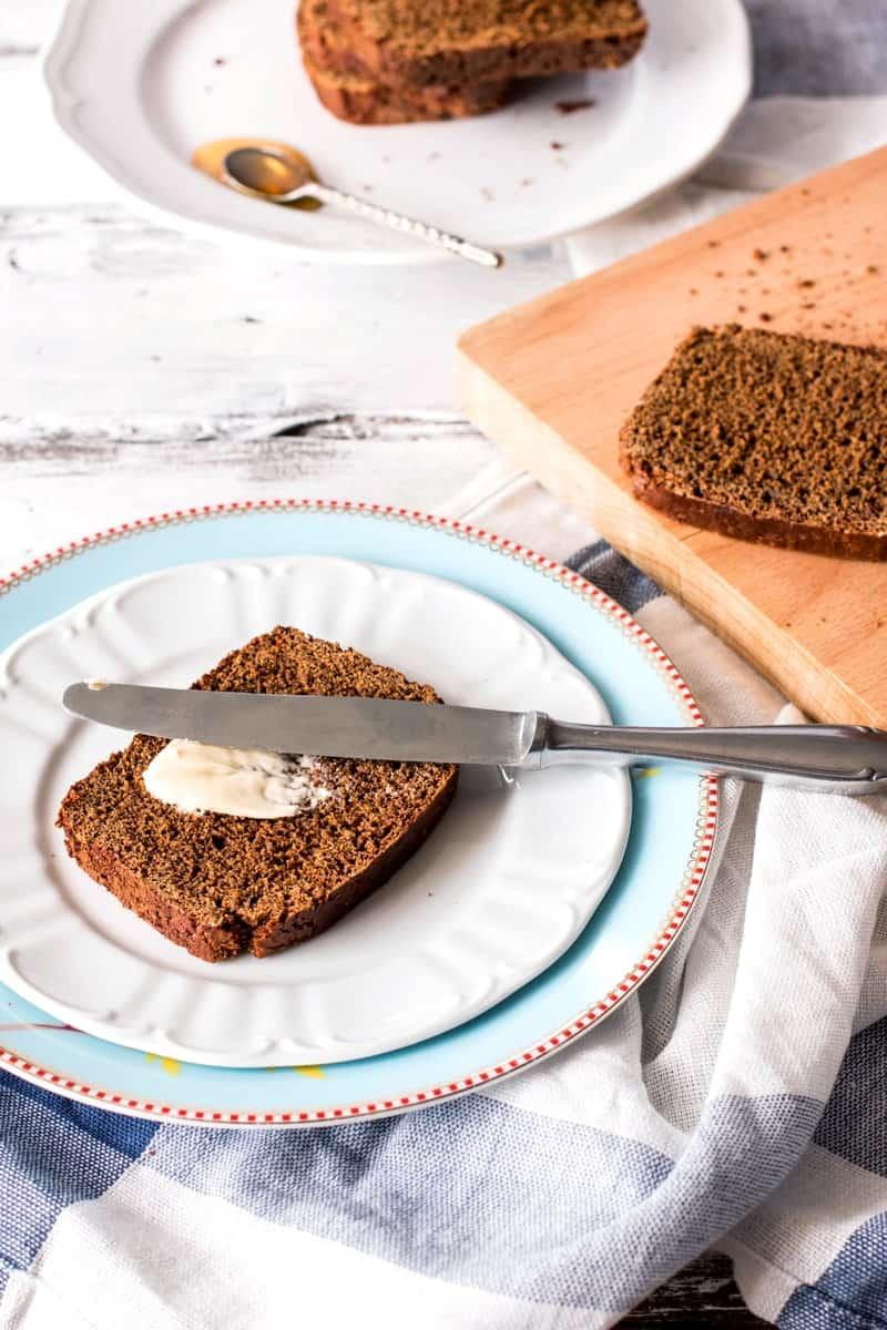 Dutch Honey Breakfast Cake | savorynothings.com