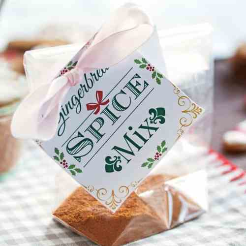 With this recipe for homemade gingerbread spice mix you can bake cakes, make amazing desserts or have the cutest DIY gift for the Christmas holidays! And of course you can also make some traditional gingerbread cookies with it