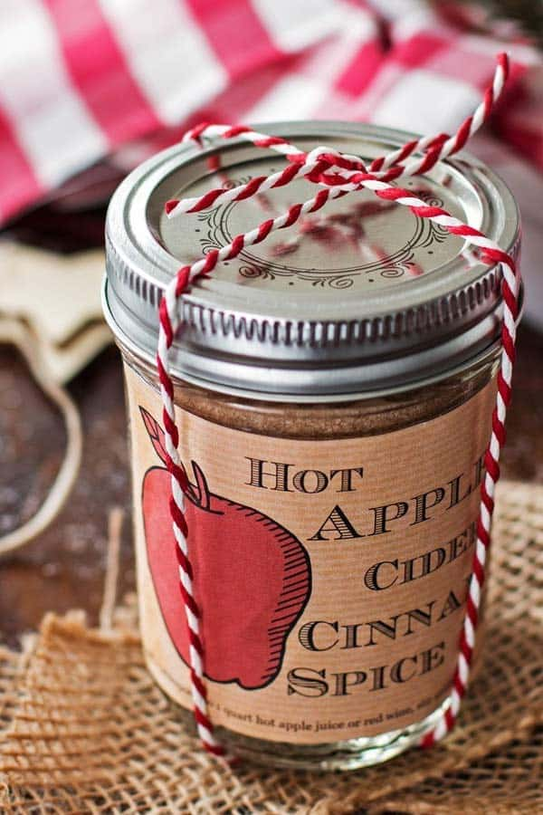 diy holiday gift in a jar