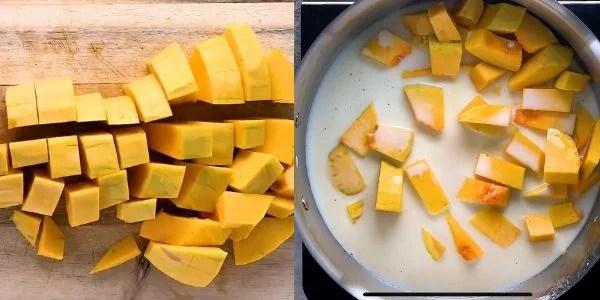 Butternut Squash Mac and Cheese Step 3