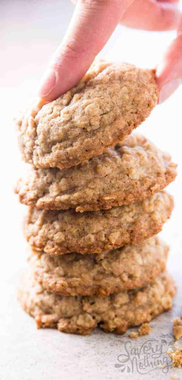 Basic oatmeal cookies