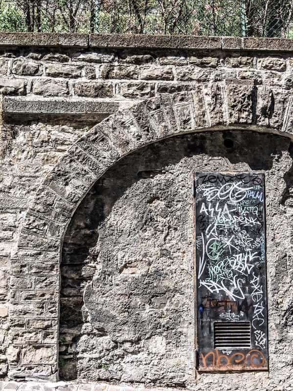 wall in Bergamo