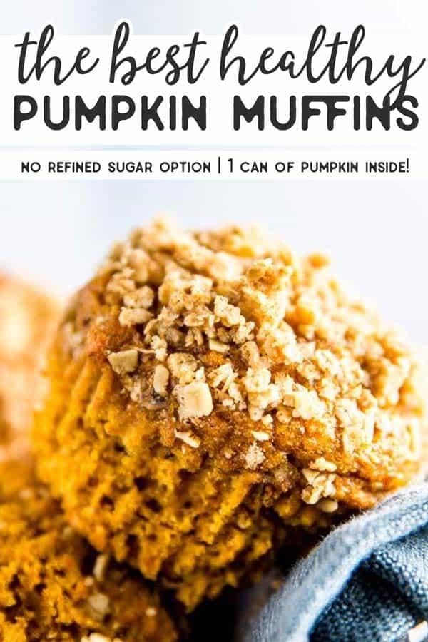 Healthy Pumpkin Muffins Pin 2