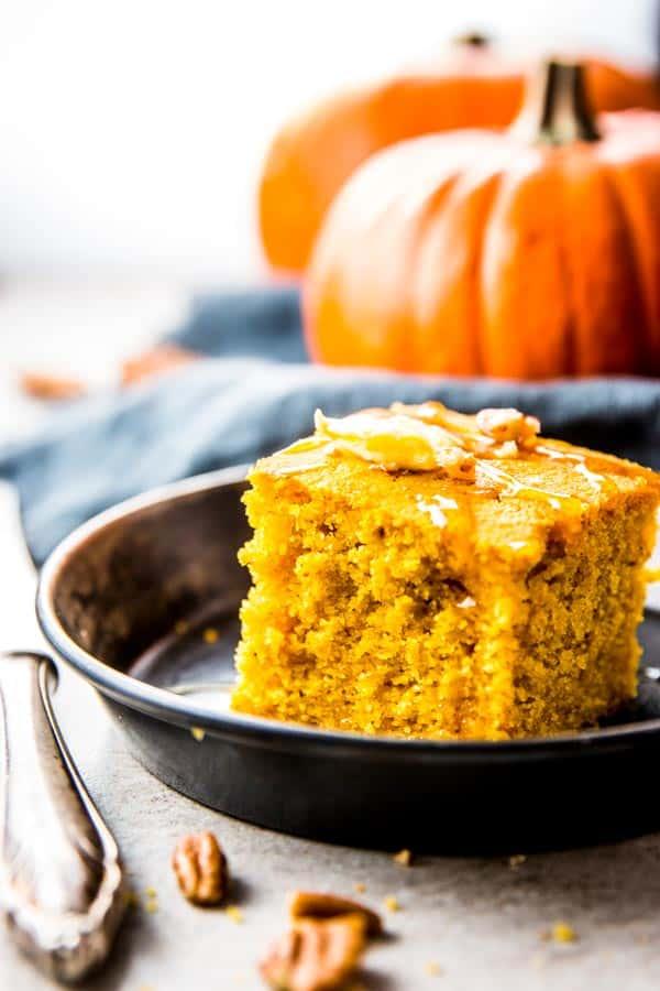 Cozy Pumpkin Cornbread Recipe | Savory Nothings