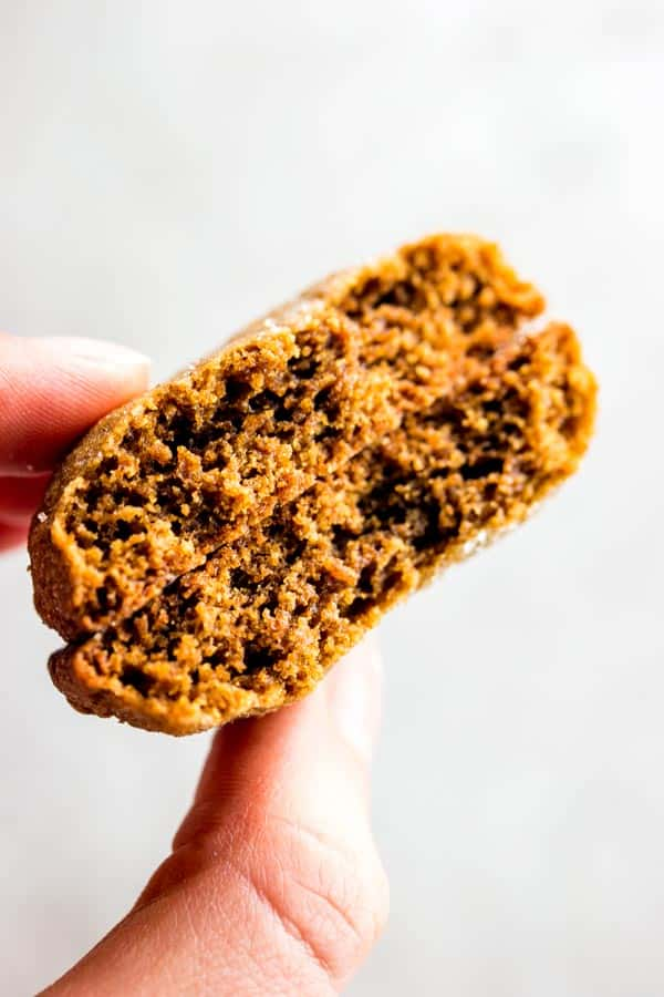 These soft molasses cookies are crispy on the outside and pillowy on the inside. Make them for Christmas this year!