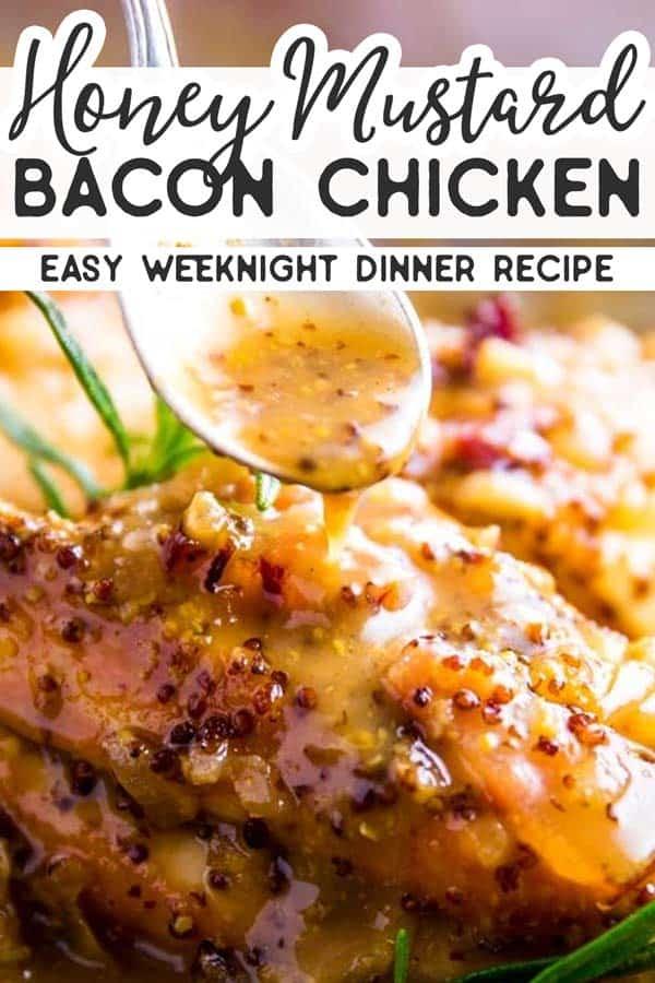 Honey Mustard Chicken with Bacon Pin 2