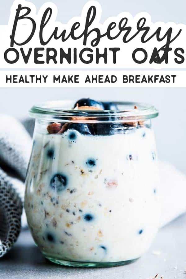 Blueberry Overnight Oats Pin 1
