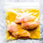 lemon garlic chicken marinade for the freezer